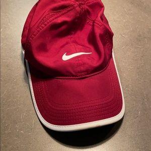 Burgundy Nike Hat
